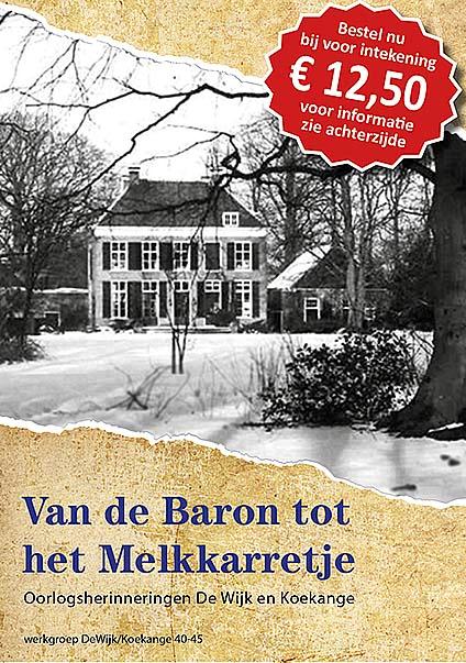 Boek Van De Baron Tot Het Melkkarretje Toe Aan 2e Druk Weblog De